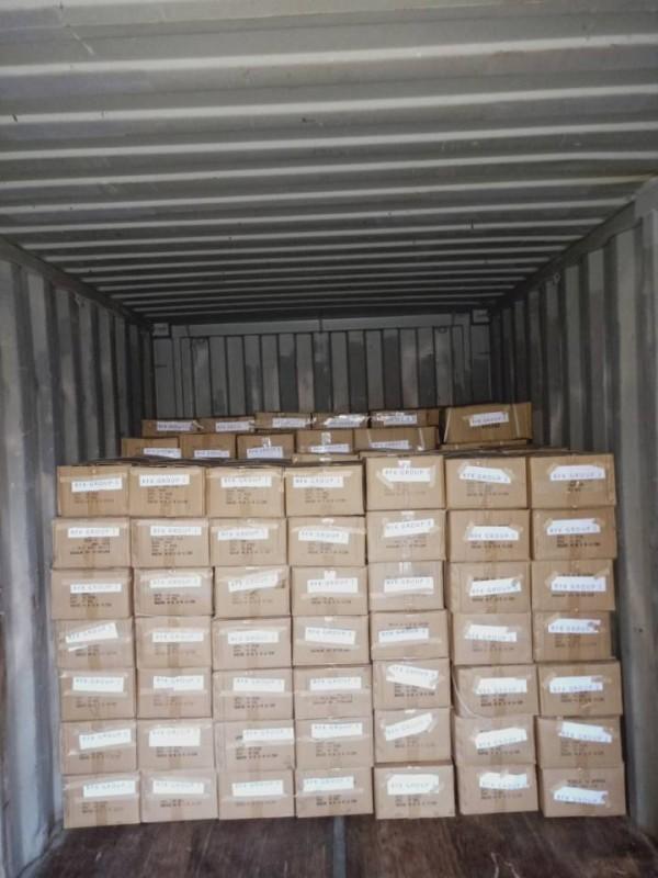 Затарка сборного контейнера